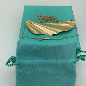 "Tiffany & Co.18KT Elsa Peretti Necklace 20"" Long"